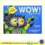 Tim Hopgood : WOW Said The Owl : หนังสือปกอ่อน ได้รางวัล สอนเกี่ยวกับสี ว๊าว นกฮูกอุทาน thumbnail 1