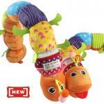 ตุ๊กตาหนอนร้องเพลง ขาเขียว-ท้องสีส้ม