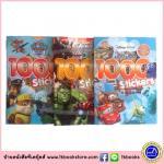 1000 Heroes Stickers & Activity 3 Books Collection : Disney Pixar Nikelodeon Paw Patrol Mavel Superheroes เซตหนังสือสติกเกอร์ เซต 3 เล่ม
