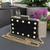 Zara Box Faux Pearl Bag 2017