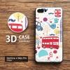 เคส Zenfone 4 Max Pro (ZC554KL) เคสนิ่มพิมพ์ลายนูน 3D คุณภาพสูง ลาย I love London