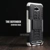เคส Zenfone Max กรอบบั๊มเปอร์ กันกระแทก Defender สีขาว (เป็นขาตั้งได้)