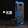 เคส Zenfone Max กรอบบั๊มเปอร์ กันกระแทก Defender สีน้ำเงิน (เป็นขาตั้งได้)