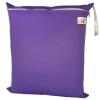 ถุงผ้ากันน้ำ 1 ช่อง Size: L (หูยางยืด) i4 -สีพื้น ม่วงเข้ม