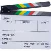 แคปเปอร์บอร์ดกองถ่ายภาพยนตร์ Director Clapper Board