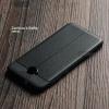 เคส Zenfone 4 Selfie ( ZD553KL ) เคสนิ่ม Hybrid เกรดพรีเมี่ยม ลายหนัง (ขอบนูนกันกล้อง) มีเส้นตรงกลาง
