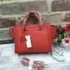 CHARLES & KEITH SAFFIANO TRAPEZE BAG รุ่นหนังsaffiano สีแดง มีถุงผ้า