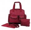 Ecosusi กระเป๋าเป้คุณแม่ กระเป๋าผ้าอ้อม ใช้ได้ 3 แบบ หิ้ว-พาดลำตัว-สะพายหลัง ใบใหญ่ ทนทาน ช่องใส่ของเยอะ