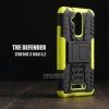เคส Zenfone 3 Max ( ZC520TL ) 5.2 นิ้ว กรอบบั๊มเปอร์ กันกระแทก Defender สีเขียวอ่อน (เป็นขาตั้งได้)