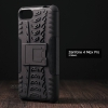 เคส Zenfone 4 Max Pro (ZC554KL) กรอบบั๊มเปอร์ กันกระแทก Defender สีดำ (เป็นขาตั้งได้)