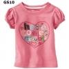 (GS10) เสื้อยืดแขนสั้น Size 4T ผ้าคอตตอนเนื้อดี นิ่ม ใส่สบาย