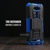 เคส Zenfone 2 Laser (5 นิ้ว) กรอบบั๊มเปอร์ กันกระแทก Defender สีน้ำเงิน (เป็นขาตั้งได้)