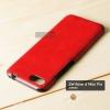 เคส Zenfone 4 Max Pro (ZC554KL) เคสนิ่มพิมพ์ลายหนัง สีแดง