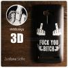 (FREE ฟิล์มกันรอย) เคส ZenFone Selfie (KD551KL) เคสนิ่ม สกรีนลาย 3D คุณภาพ พรีเมียม ลาย C