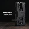 เคส Zenfone 3 Max ( ZC520TL ) 5.2 นิ้ว กรอบบั๊มเปอร์ กันกระแทก Defender สีดำ (เป็นขาตั้งได้)