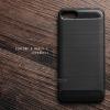 """เคส Zenfone 4 Max 5.2"""" (ZC520KL) เคสนิ่มเกรดพรีเมี่ยม (Texture ลายโลหะขัด) กันลื่น ลดรอยนิ้วมือ สีดำ"""
