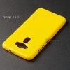 """เคส Zenfone 3 ZE520KL (5.2"""" นิ้ว) เคสนิ่มผิวเงา (MY COLORS) สีเหลือง"""