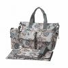 Ecosusi กระเป๋าสัมภาระคุณแม่ กระเป๋าใส่ผ้าอ้อม แขวนรถเข็นเด็กได้ หิ้ว หรือสะพายไหล่ได้ (Grey)