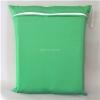 ถุงผ้ากันน้ำ 1 ช่อง Size: L (หูยางยืด) i4 -สีพื้น เขียวเข้ม