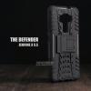 เคส Zenfone 3 (ZE552KL) 5.5 นิ้ว เคสบั๊มเปอร์ Defender กันกระแทก มีขาตั้งในตัว สีดำ