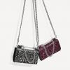 Zara Women Printed Crossbody Wallet Bag