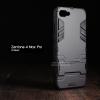 เคส Zenfone 4 Max Pro (ZC554KL) เคสขอบกันกระแทก Defender (มีขาตั้ง) สีดำ - ดำ