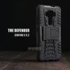 เคส Zenfone 3 ( ZE520KL ) กรอบบั๊มเปอร์ กันกระแทก Defender สีดำ (เป็นขาตั้งได้)
