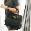 MARCS Leather Padlock Handbag 2017