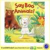 Say Boo To The Animals by Ian Whybrow & Ed Eaves หนังสือ นิทานภาพ สัตว์ป่าต่างๆ สำเนา