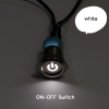 ON-OFF Switch Molex ไฟสีขาว (16มม.)