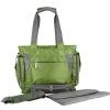 Ecosusi กระเป๋าคุณแม่ สะพายได้ แถมผ้ารองเปลี่ยนผ้าอ้อม ผลิตจากไนล่อนคุณภาพสูง ทนทาน ช่องใส่ของเยอะ (สีเขียว)