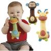 ตุ๊กตาผ้าบีบมือ เขย่ามีเสียง เสริมพัฒนาการ mamamiya&papas