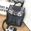 CHARLE & KEITH Fashion Backpack Embroidery Flower Limited