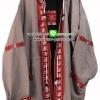 เสื้อฮู๊ด เสื้อแจ๊คเก็ตผ้าฝ้าย เสื้อกันหนาว (ใส่ได้ 2 ด้าน) - Size L