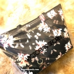 Victoria's Secret Flower Print Shoulder Tote Bag
