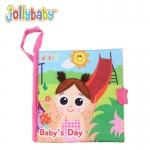 หนังสือผ้า Baby 's Day by JollyBaby