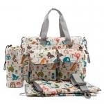 Ecosusi กระเป๋าสัมภาระคุณแม่ กระเป๋าใส่ผ้าอ้อม แขวนรถเข็นเด็กได้ หิ้ว หรือสะพายไหล่ได้ (ลายสัตว์ต่างๆ)