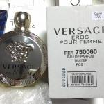 น้ำหอม Versace Eros Femme EDP 100ml. Tester Counter brand แท้ น้ำหอม Tester