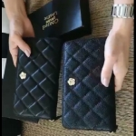 C Camilla Lam Leather purse 2 Style New With Box (หนังแกะแท้)