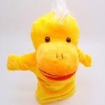 ตุ๊กตาหุ่นมือเป็ด หัวใหญ่ ขนนุ่มนิ่ม สวมขยับปากได้