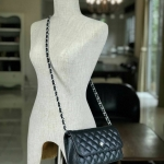 C caviar W woc wallet on chain Silver hardware.