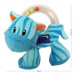 ตุ๊กตาม้าลาย ของเล่นเขย่าลูกปัดมีเสียง ยี่ห้อ Happy Monkey