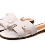 รองเท้าแตะไซส์ใหญ่ 42-43 สไตล์ H สีขาว KR0390