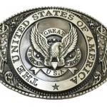หัวเข็มขัด Vintage American Cowboy