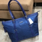 MANGO Nylon Tote Bag With Straps
