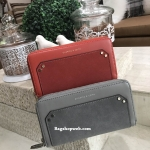 CHARLES & KEITH Flannel Detail Long Wallet 2017