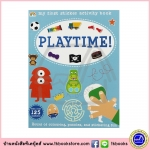Playtime : My Sticker Activity Book , Sticker Puzzle Finger-puppet Colouring หนังสือกิจกรรม สติกเกอร์
