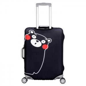 (ขนาด S) ผ้าคลุมกระเป๋าเดินทาง ขนาด 18 - 20 นิ้ว (ลายหมี)