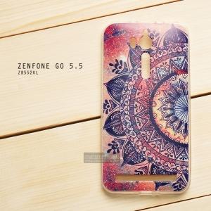 เคส Zenfone GO 5.5 นิ้ว (ZB552KL) เคสนิ่ม TPU พิมพ์ลาย แบบที่ 8