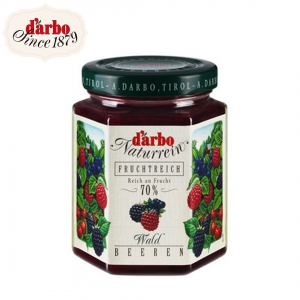 Darbo forest berries fruit spread 200 g.